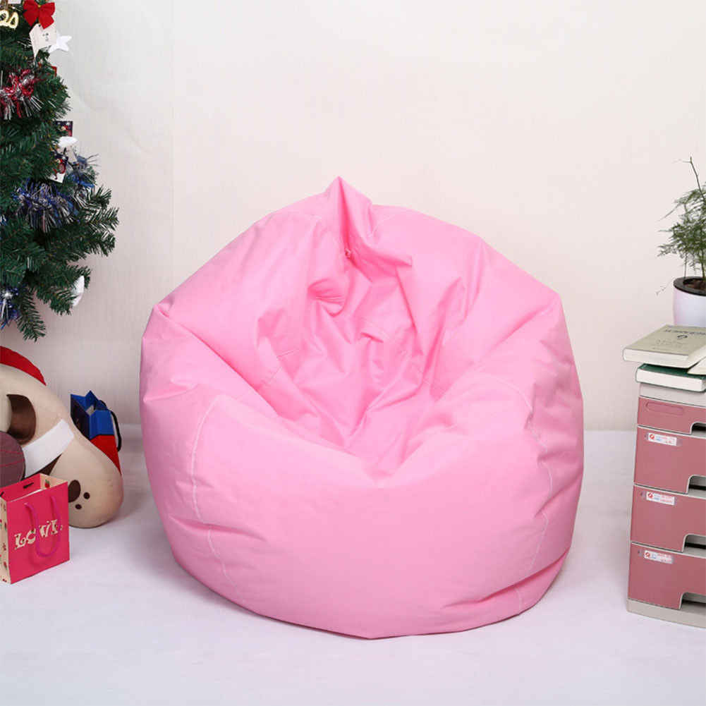 Colorido Beanless Fillable Assento Do Sofá do Saco de Feijão Espreguiçadeira Sofá Da Sala De Jogo de Viagem