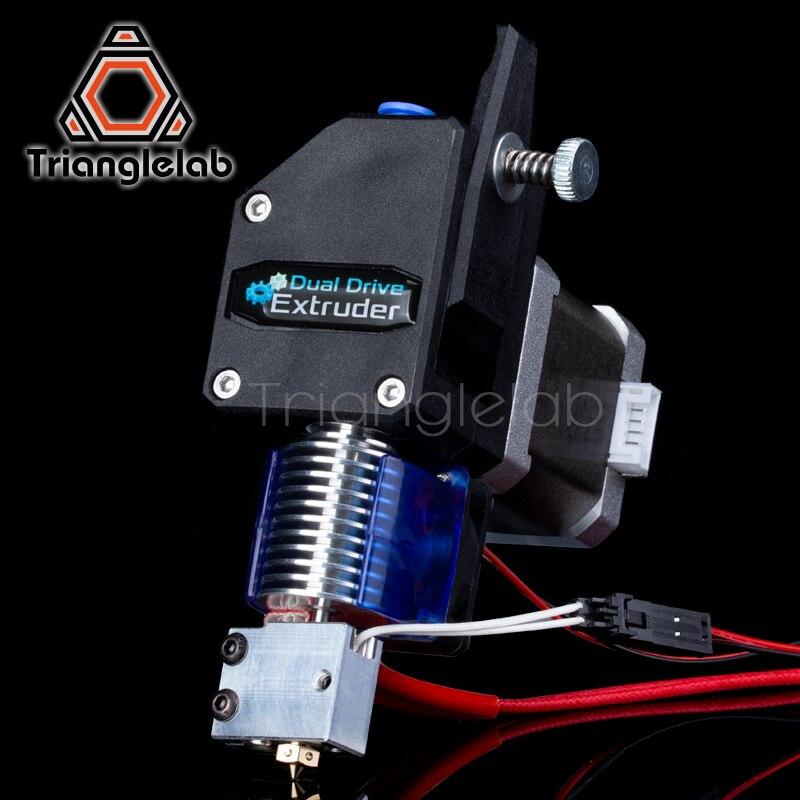 BMG trianglelab VULCÃO MK8 Bowden HOTEND EXTRUSORA Extrusora Dual Drive Extrusora para 3d impressora de Alto desempenho para I3 printe