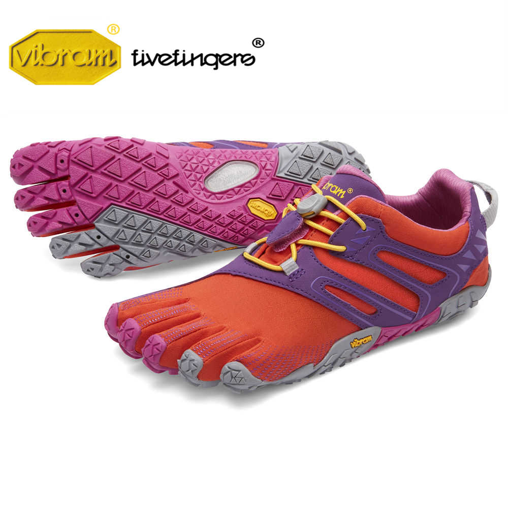 super popular 70a0a 02913 Vibram Fivefingers V-TRAIL Women's Sneaker Cross-country Running Outdoor  Five fingers Parkour Adventure sports Shoes