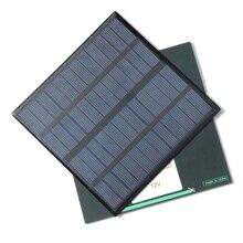 Зарядное устройство для Iphone 3,5 W солнечное зарядное устройство Поликристаллический солнечный элемент Солнечная батарея с usb-разъемом солнечное зарядное устройство для power Bank 2 шт