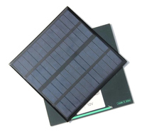 Iphone ladegerät 3 5 W Solar Ladegerät Polykristalline Solarzelle Solar Panel USB Solar Mobilen Ladegerät Für Power Bank 2 stücke|Solarkollektoren|   -