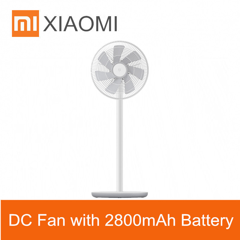 Xiaomi Smartmi Home Wireless Natural Wind Floor Stand Fan 100 Stepless Speed Remote Control Mijia App Operation 2800mah Battery