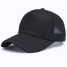 Summer Men's Baseball Cap Summer Breathable Mesh Ca