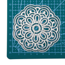 New 2Pcs Lace Edge Doily Metal Cutting Dies Stencil for DIY Scrapbooking Photo Album Embossing Paper Cards Decorative Craft(China)