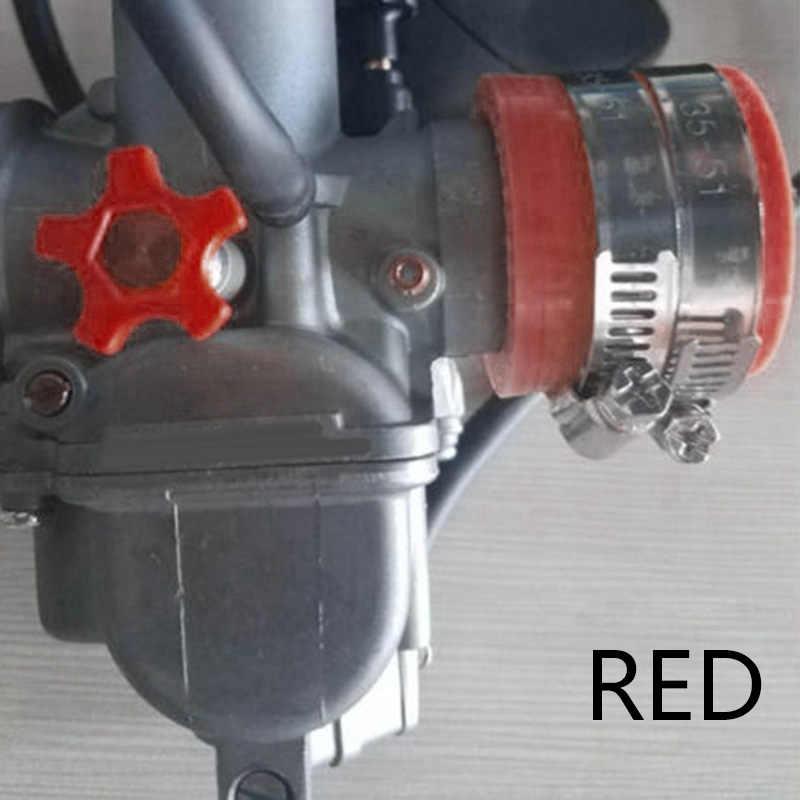 รถจักรยานยนต์คาร์บูเรเตอร์อะแดปเตอร์ยาง Intake Manifold สำหรับ OKO KOSO KEIHIN 28/30 มม.