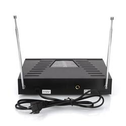 WM-03V Wireless VHF Dual Handheld Microphone KTV Bar Stage Equipment Noise Reduction HD Waterproof