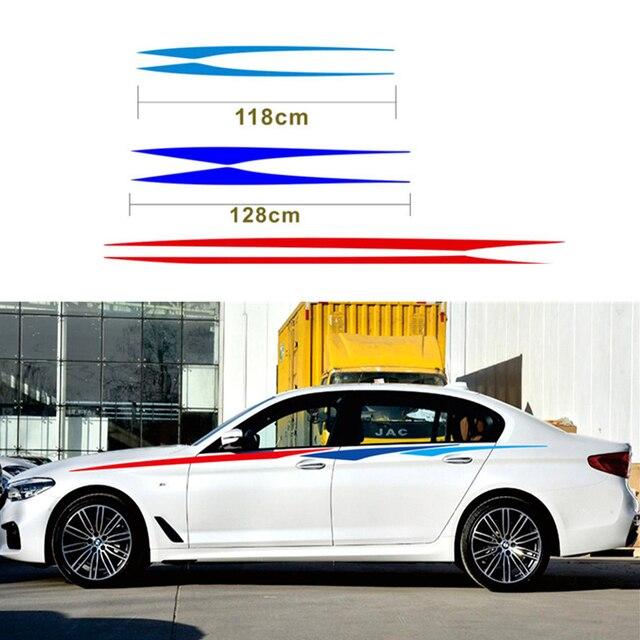 ドアサイドデカール車のステッカーの装飾のために適合自動反射ウエストライン 3 色