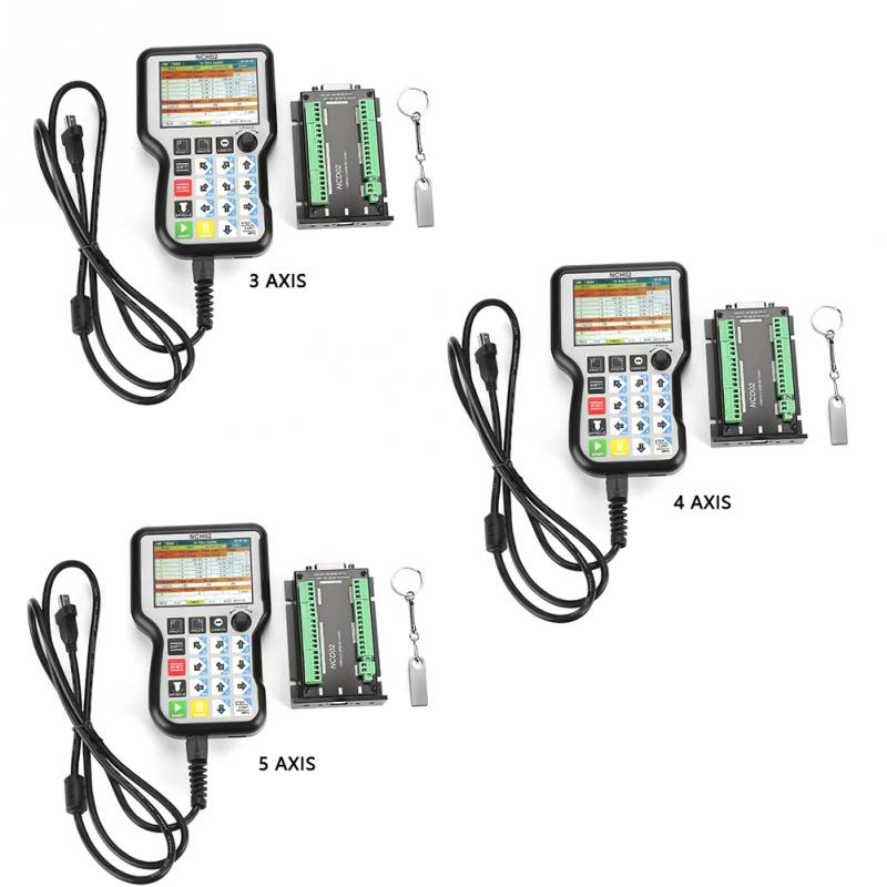 NCH02 NC Card USB CNC Motion Control System Axis Controller Board Up to 125K Stepper Motor Control