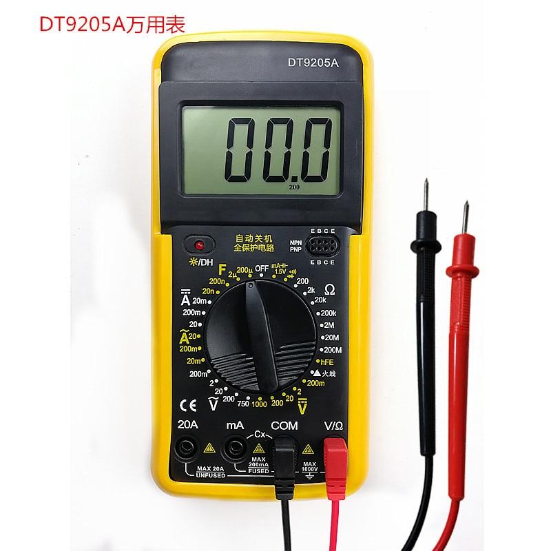 Haute Qualité 1 Paire Universal Probe Test Leads Pin Pour multimètre numérique compteur