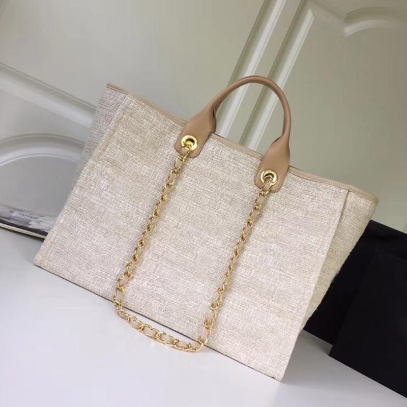 Холст женские сумки для покупок neverfull одежда высшего качества известный бренд tote с цепочкой пляжная сумка Париж полный роскошные сумки боль