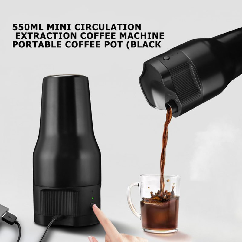 500Ml Mini Electric Coffee Maker Auto Usb Coffee Cafe Filter Coffee Machine Extraction Quick Brewing Coffee (Red)500Ml Mini Electric Coffee Maker Auto Usb Coffee Cafe Filter Coffee Machine Extraction Quick Brewing Coffee (Red)
