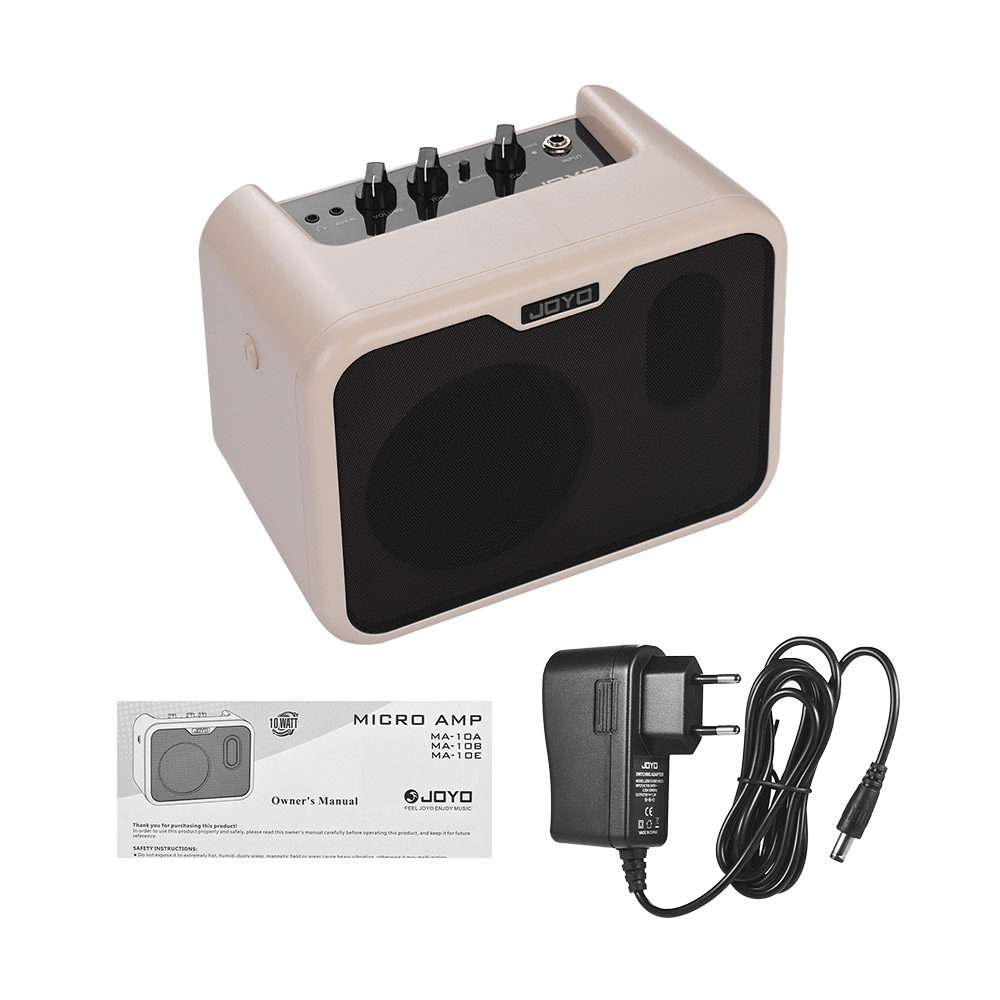 JOYO MA 10B Mini Electric Bass Amplifier Portable Bass Amp Speaker 10Watt Amp Normal Drive Dual