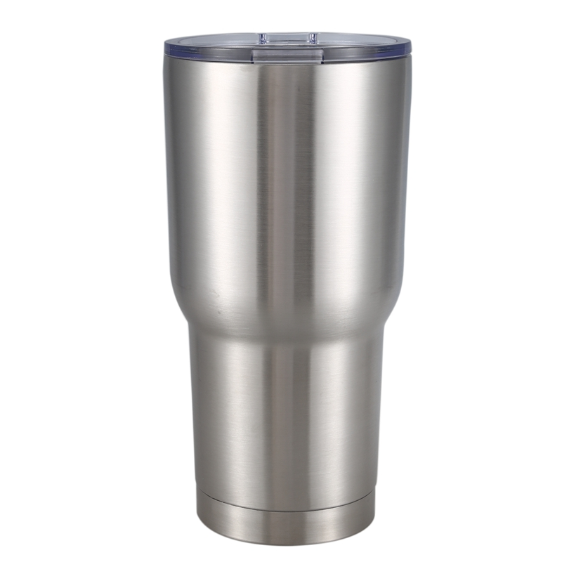 30oz Insulated Tumbler Camping Travel Tumbler Stainless Steel Coffee Mug Cup With Splash Proof Lid Primary Color|Tumblers| |  - title=