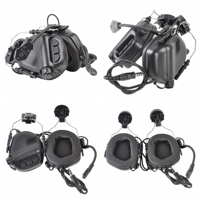 OPSMEN Earmor Tactical M32H Noise Canceling Headphones For FAST ARC Helmet Rail And M51 PTT