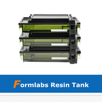 1pc 3D Printer Accessory Upgraded Form2 LT Resin Tank With Overflow Prevention Design