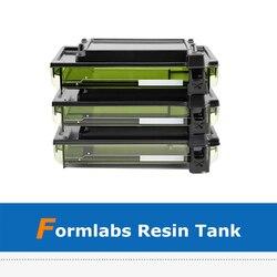 1pc akcesoria do drukowania 3D ulepszona drukarka 3D Form2 LT zbiornik żywicy z zabezpieczeniem przed przepełnieniem w Części i akcesoria do drukarek 3D od Komputer i biuro na