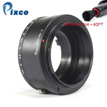Pixco For CRX-Z6 Z7 Lens Mount Adapter Ring Suit For Contarex CRX Mount Lens to Suit for Nikon Z Mount Camera Z6 Z7 +Gift фото