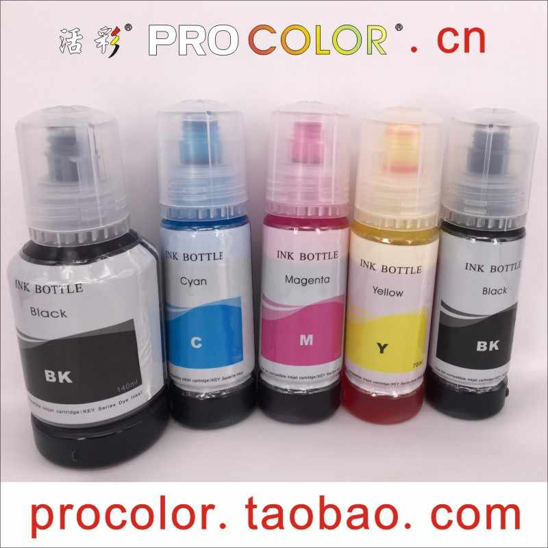 104 T104 C13T00P240 C13T00P440 C13T00P340 C13T00P140 CISS Dye ink refill  kit For Epson L3110 L4150 L4160 Eco Tank inkjet printer