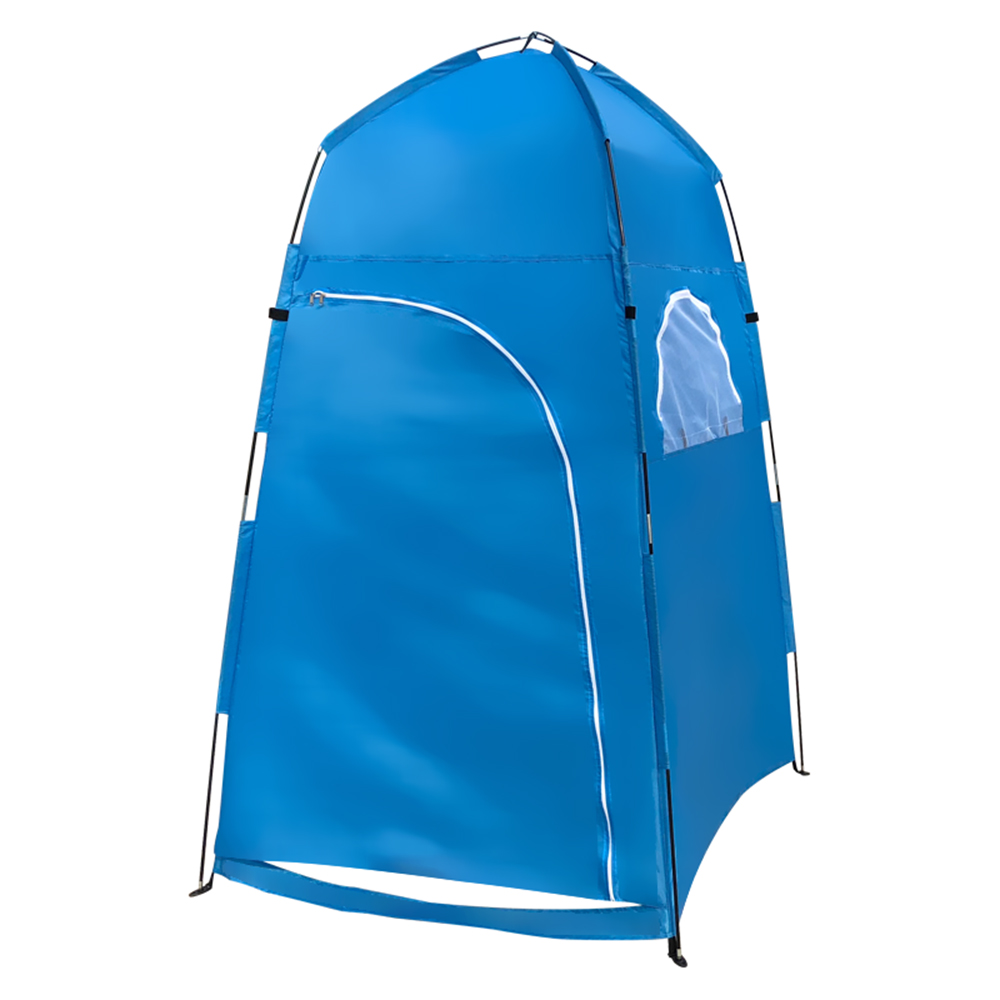 New Portable Camping Pop Up Tents Changing Dressing Room Outdoor Privacy Blue