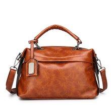 купить Women Leather Handbags Women Messenger Bag Designer Crossbody Bags For Women 2018 Bolsa Feminina Tote Shoulder Bags Sac A Main по цене 1977.3 рублей