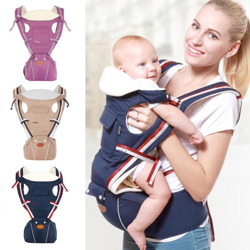 Ergonomic Baby Carrier Infant Backpack for 0 36 Months Kids Baby Carriage Toddler Sling Wrap Suspenders Baby Sling|Backpacks & Carriers| |  - title=