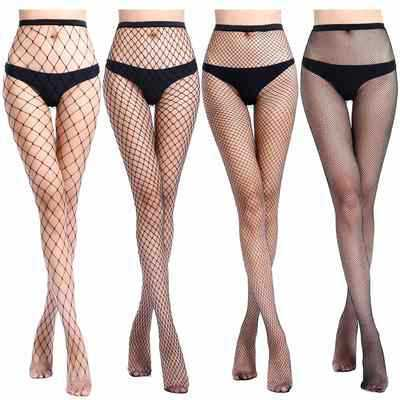 SEXY Women High Waist Fishnet Stocking Fishnet Club Tights Panty Knitting Net Pantyhose Trouser Mesh Lingerie Tt016 1pcs/lot