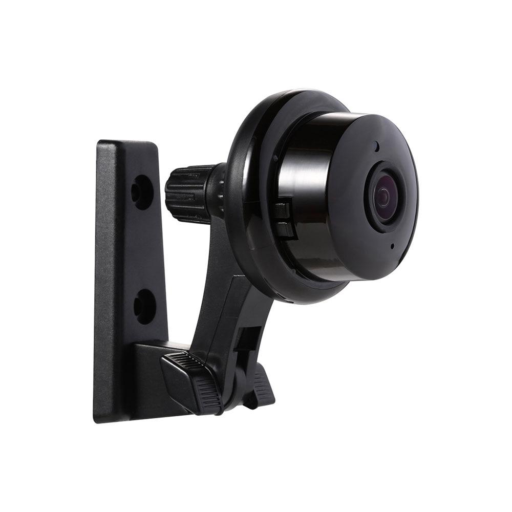 Le plus nouveau bouton Escam Q6 1MP Mini caméra IP WiFi ONVIF2.4.2 prend en charge l'alarme de courrier électronique de détecteur de mouvement de vue Mobile, carte Micro SD 128 GB