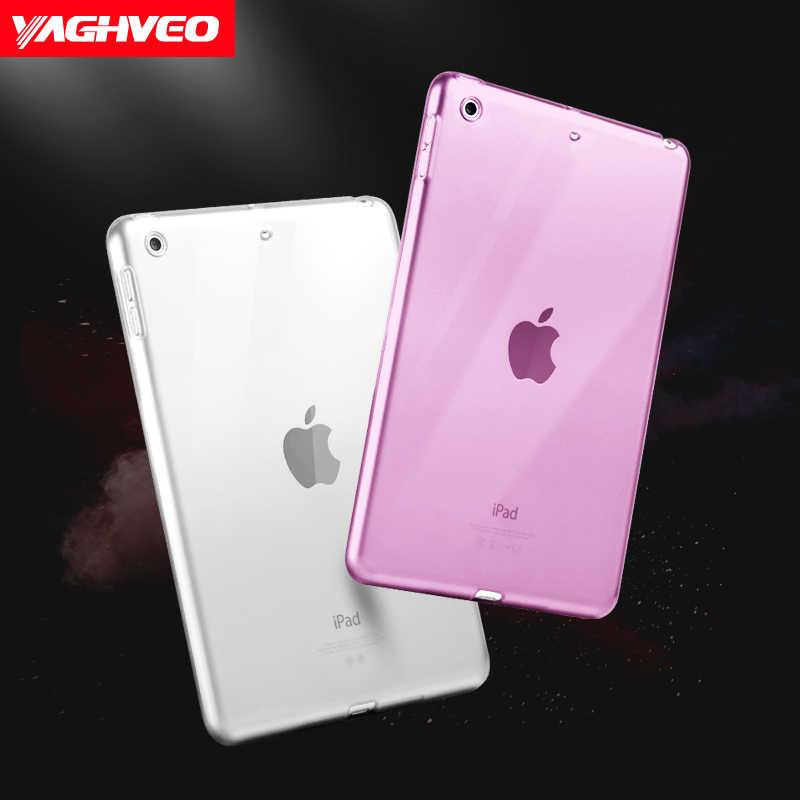 For iPad Mini 5 Case 2019 Clear Soft TPU Gel Silicone Bumper Case Back Skin  Protective Transparent Cover for Apple iPad Mini 5