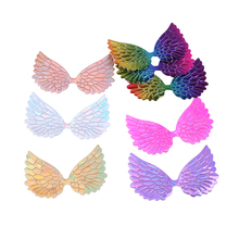 Давид аксессуары голограмма голографические лазерные крылья аксессуары для волос DIY материалы для украшения свадебной вечеринки подарочная упаковка, 20Yc4864