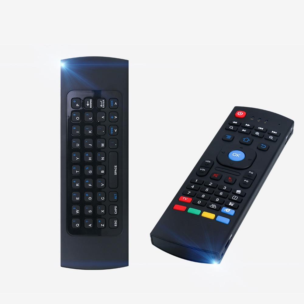 2,4g Inalámbrico Usb Ratón Volador Control Remoto Nfrared Ajuste Multifuncional Mini Teclado Para Smart Tv Para Samsung Lg