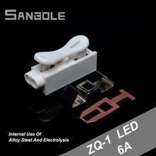 Клемма для соединения устройства быстрое подключение светодиодных