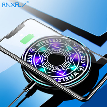 RAXFLY Universal Wireless Charger For iPhone X XS MAX XR Mag