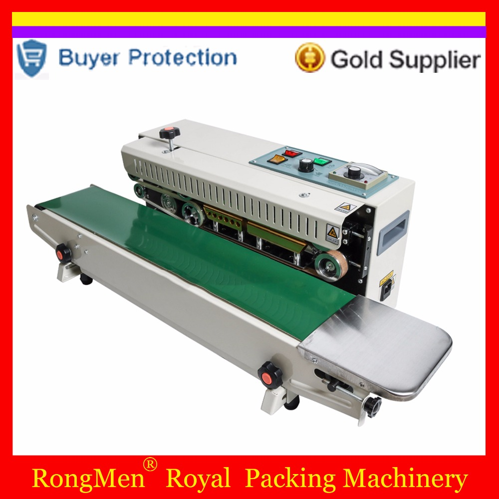 Automatic Continuous Pouch Film Impulse Sealer Heat Plastic Auto Successive Bag Sealing Machine Shrink Packing Free Shipping automatic bag sealing machines