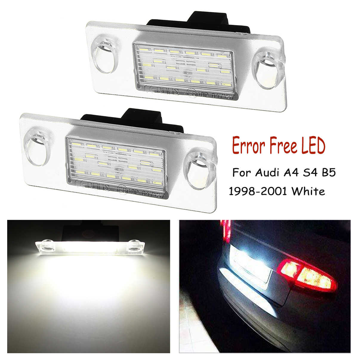 Detail Feedback Questions About Hopstyling 2pcs Pair 18smd Led Rear Audi A5 To Facelift Tail Lights Adaptor Wiring Automotive Car License Plate Light 12v Smd3528 Number Lamp For A4 S4