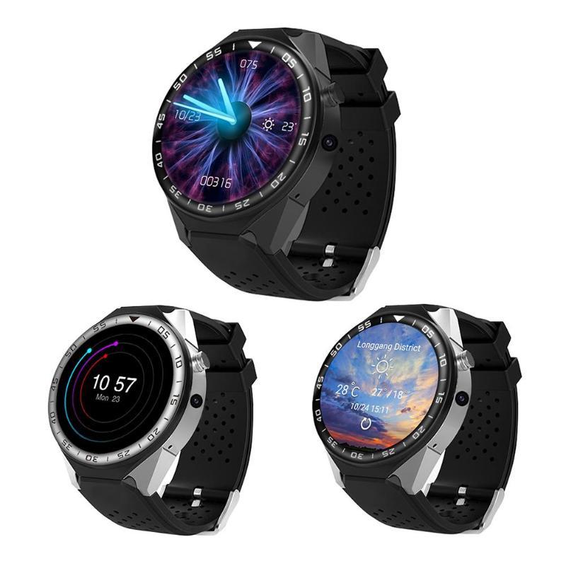 купить Bluetooth Smart Watch with Camera 2GB RAM 16GB ROM Support SIM Card 3G WIFI GPS Smartwatch Phone for Android for IOS по цене 6493.75 рублей