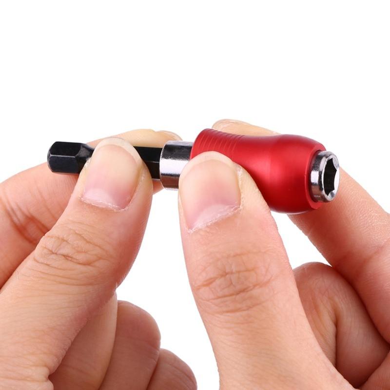 Nieuwe Nieuwe 1/4 inch Hex Shank Magnetic Bit Houder Extension Bar voor Elektrische Boor Schroevendraaier Lengte 60mm