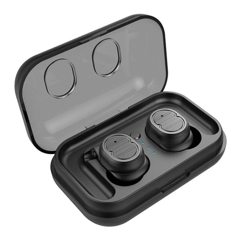 <font><b>T8</b></font> <font><b>TWS</b></font> Touch Control Bluetooth 5.0 Earphone Wireless Sport Mini Earbuds with Charging Box Noise Cancelling Lossless Music Earbud image