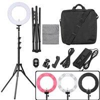 14'' 5500K Fill Light Dimmable LED Ring Tripod Camera Adjustable Selfie Lamp Makeup Mirror Photo Studio Photographic Lighting