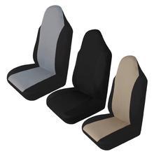 Capa universal de assento de carro, capa dupla automotiva durável, almofada, protetor de assento adequado para a maioria dos carros, 1 peça