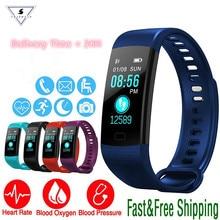 Ssmarwear Y5 Smart Watch Fitness Activity Heart Rate Blood Pressure Band IP67 Waterproof Pedometer bracelet VS Xiaomi Miband 2