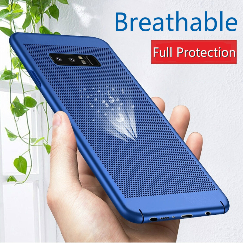 Case For Samsung Galaxy S10 E S10 Plus Case On Galaxy A8S A6S A750 A9 A8 A6 Plus 2018 S9 S8 NOTE 9 8 Heat Dissipation Cover