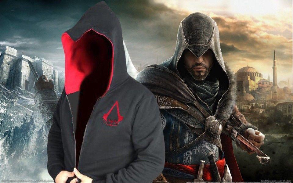 Nwt Assassin S Creed Ezio Auditore Hoodie Costume Coat