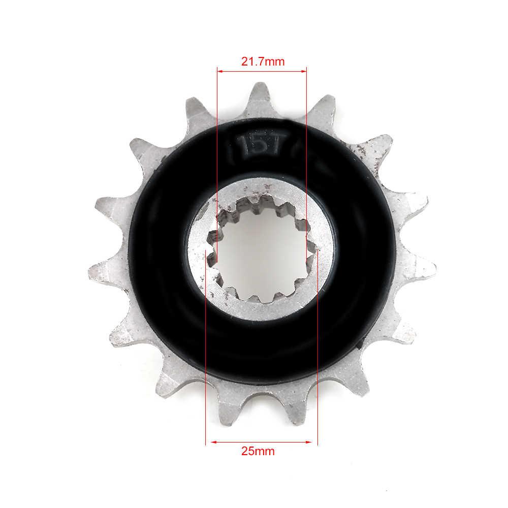 525-15T Motorfiets Onderdelen Tandwiel voor Honda CB400 CB-1 CBR400 VFR400 RVF400 CB500 CBF500 525 45T # d