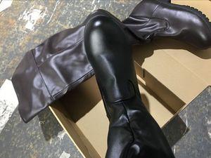 Image 5 - Shingeki לא kyojin התקפה על טיטאן לוי קוספליי גברים מבוגרים נעלי מגפי אקרמן ארן יגר mikasa ליל כל הקדושים תלבושות עבור נשים