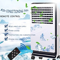 72x24x34cm Portable Powerful Wind Air Conditioner Conditioning Fan 220V 60W High density Environmental Protection Timing
