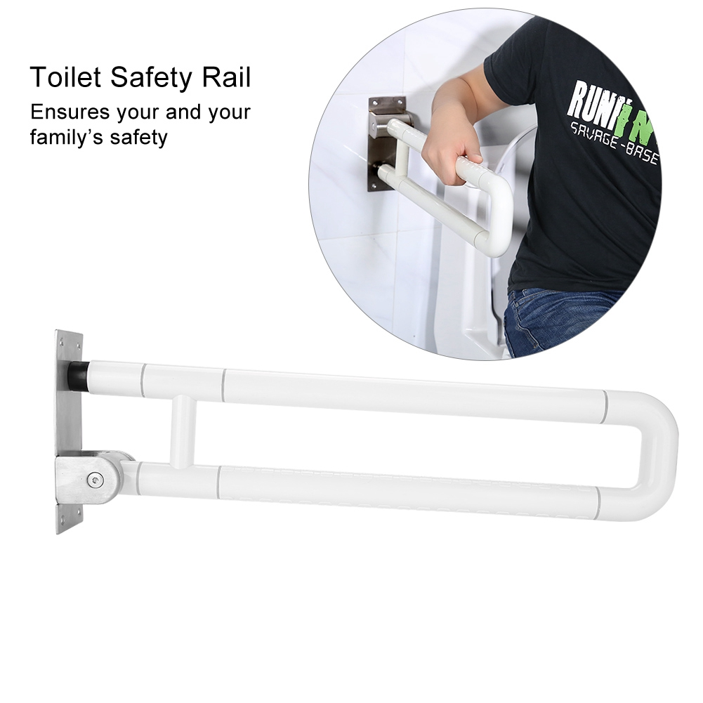 Toilet Anti Slip Support Safety Helping Rail Grab Bar Anti Slip Shower Bathroom Asisst Disabled Elderly