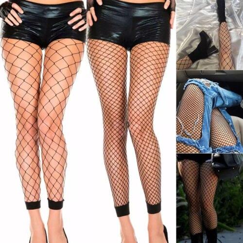 4ead0d8dcc7 Womens Sexy High Waist Cross Fishnet Footless Tights Mesh Net Thigh High  Pantyhose Stockings