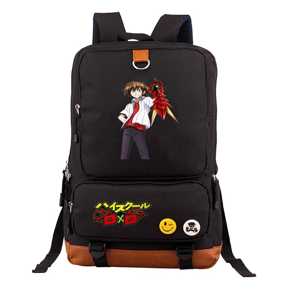 52af12449d57 ... подростков дорожные сумки 6 · Аниме высокая школа DXD рюкзак для мужчин  женщин ноутбук, рюкзак для девочек и мальчиков школьная