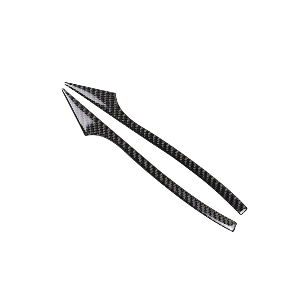 Carbon Fiber Rearview Mirror Anti Rub Strips Protector For