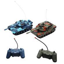 2 шт. забавные маленькие игрушечные машинки двойной боевой автомобиль дистанционного управления Танк игрушки для детей дети мальчик